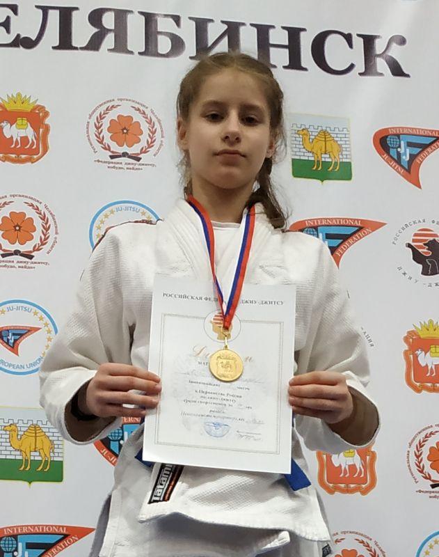 Хорошева Юлия Анатольевна (девушки 14-15 лет)